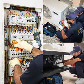 AC, Electrical and Plumbing Service