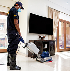 Deep cleaning for Occupied or Furnished